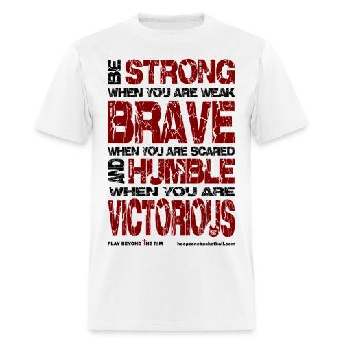 BE STRONG w/dark art - Men's T-Shirt