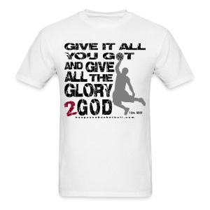 Give It All w/dark art - Men's T-Shirt
