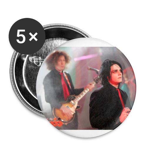 Gerard Way,Ray Toro(MCR) 5 pack - Small Buttons