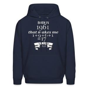 Born in 1961 - Hoodie - Men's Hoodie