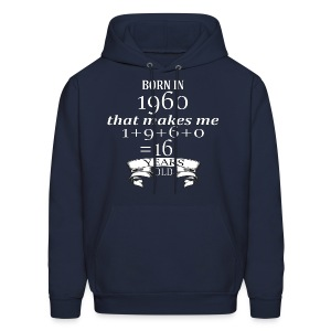 Born in 1960 - Hoodie - Men's Hoodie