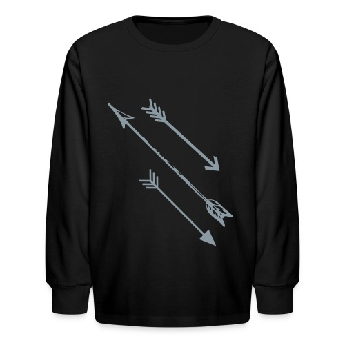 Arrows - Kids' Long Sleeve T-Shirt