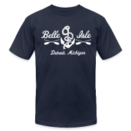 T-Shirts ~ Men's T-Shirt by American Apparel ~ Belle Isle