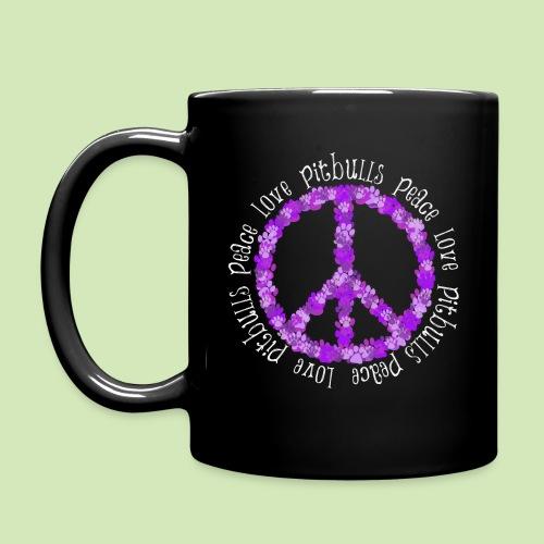 GIVE BACK- Peace N Paw Prints - Full Color Mug