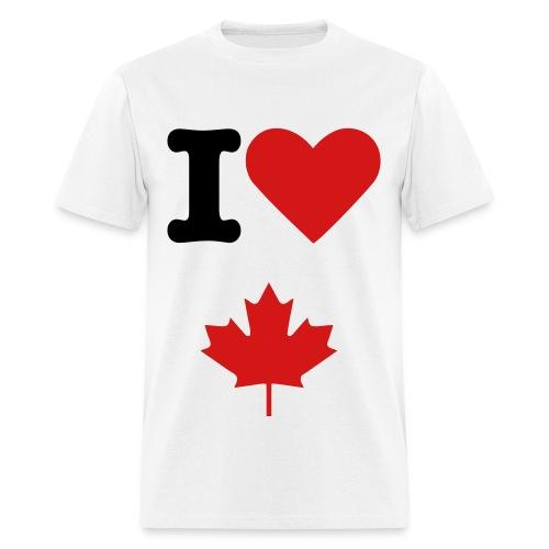 I Love Canada T-Shirt - Men's T-Shirt