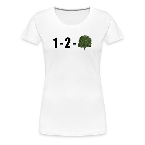 1-2-Tree - Women's Premium T-Shirt