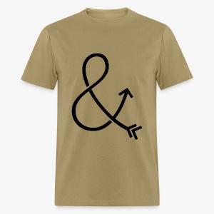 Ampersand & Arrow - Men's T-Shirt