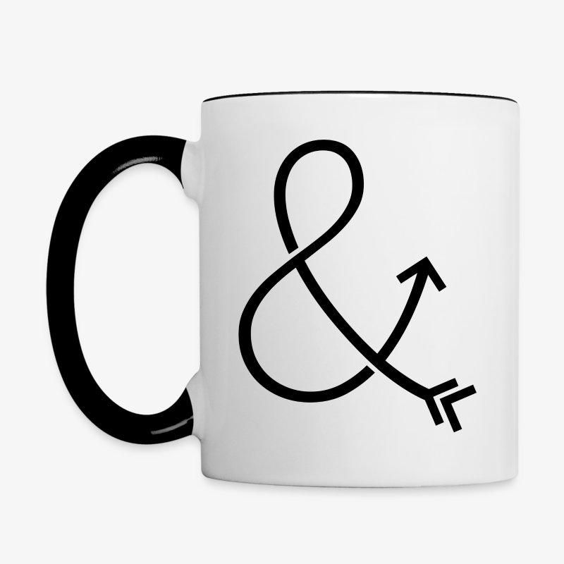 Ampersand & Arrow - Contrast Coffee Mug