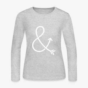 Ampersand & Arrow - Women's Long Sleeve Jersey T-Shirt