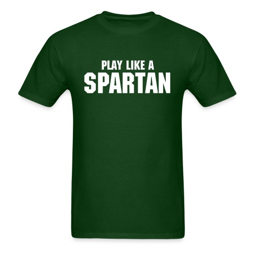 Sparty Play Like T - Men's T-Shirt