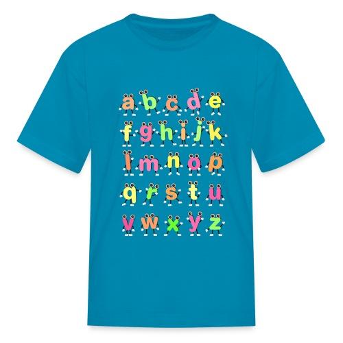 Dancing Alphabets - Kids' T-Shirt