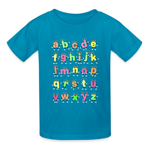 Dancing Alphabets - Kids' T-Shirt