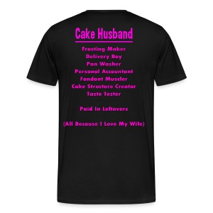 Cake Husbands Job - Men's Premium T-Shirt