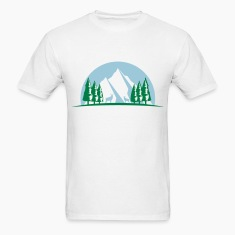 MOUNTAIN ELK TREE T SHIRT