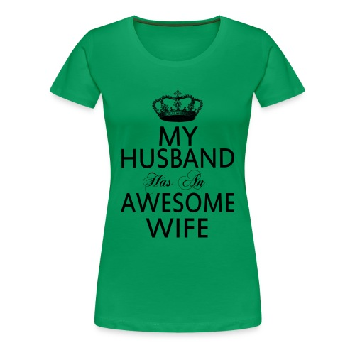 Awesome Wife - Women's Premium T-Shirt
