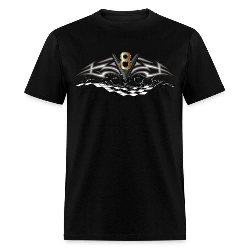 V8 Logo T-Shirts - Men's T-Shirt