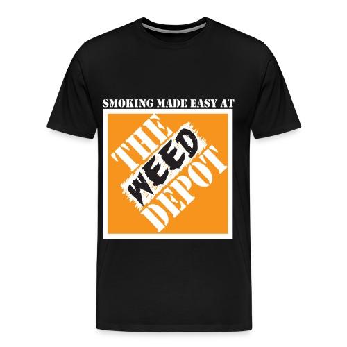 The Weed Depot - Men's Premium T-Shirt