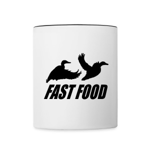Fast food waterfowl  - Contrast Coffee Mug