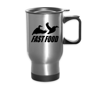 Fast food waterfowl  - Travel Mug