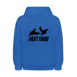 Fast food waterfowl  - Kids' Hoodie