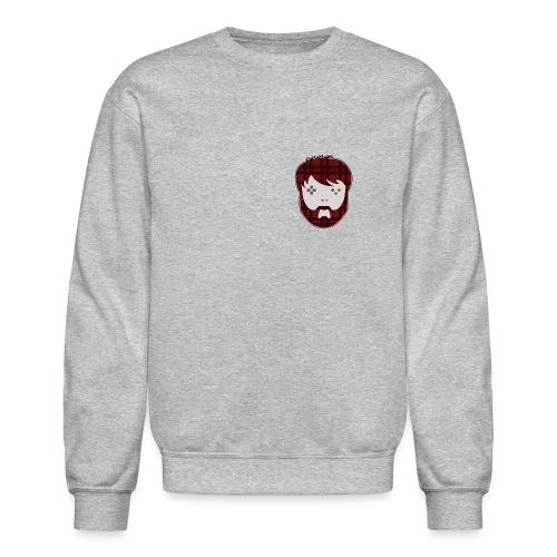 TShirt_theMathasHead.png - Crewneck Sweatshirt