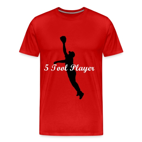 Tee 5 Tool Player - Men's Premium T-Shirt