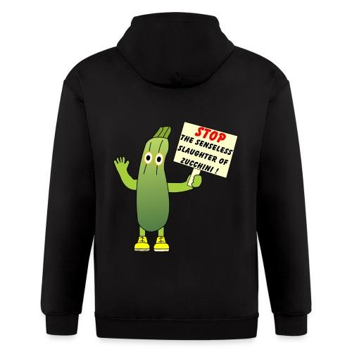 Save Zucchini - Men's Zip Hoodie