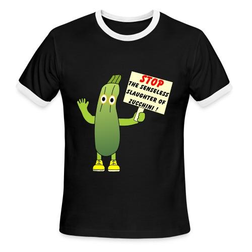 Save Zucchini - Men's Ringer T-Shirt