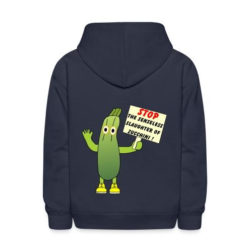 Save Zucchini - Kids' Hoodie
