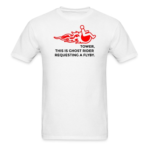 Tower, This is Ghost Rider - Men's T-Shirt