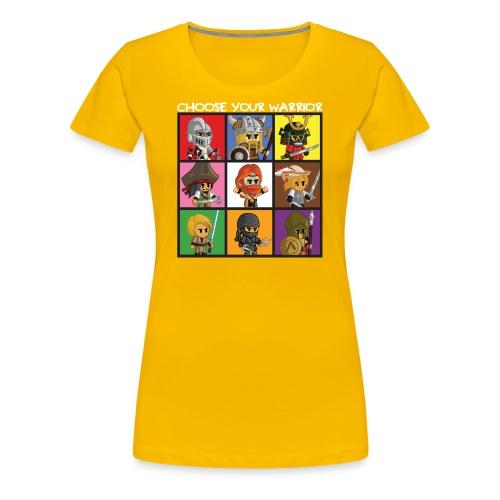 Bite-Size Brawlers (Women) - Women's Premium T-Shirt
