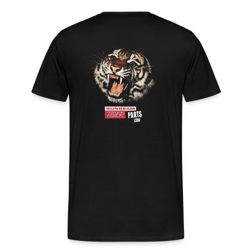 Men's Sunbeam Tiger on Back - Men's Premium T-Shirt