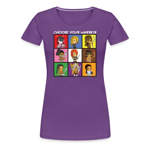 Bite-Size Brawlettes (Women) - Women's Premium T-Shirt