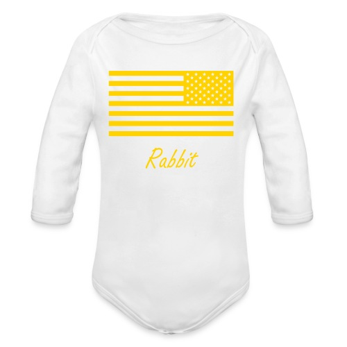WW3 onezie - Organic Long Sleeve Baby Bodysuit