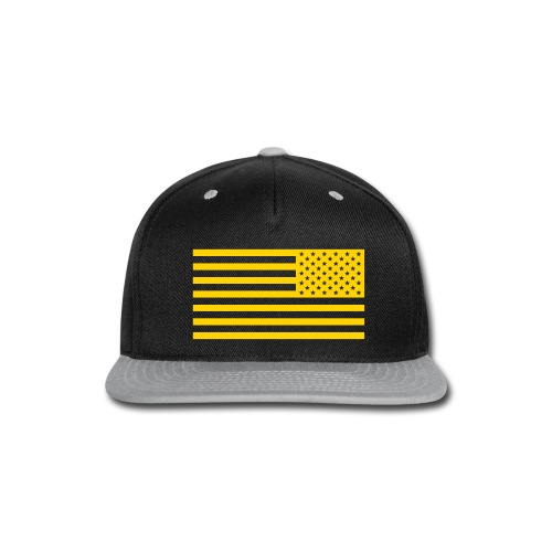 WW3 Gold Flag Snapback - Snap-back Baseball Cap