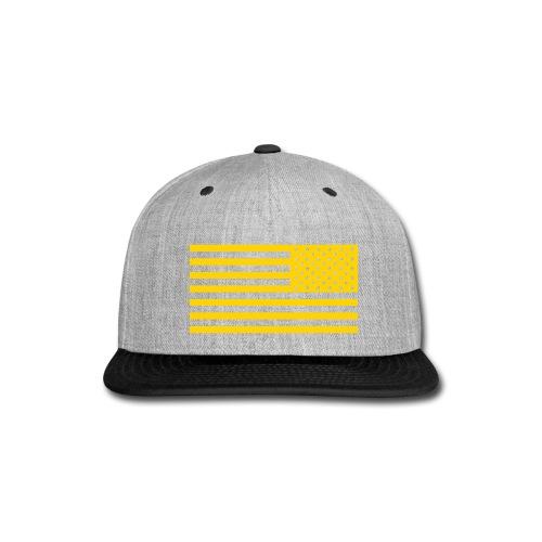 WW3 Gold Flag Snapback - Snap-back Baseball Cap
