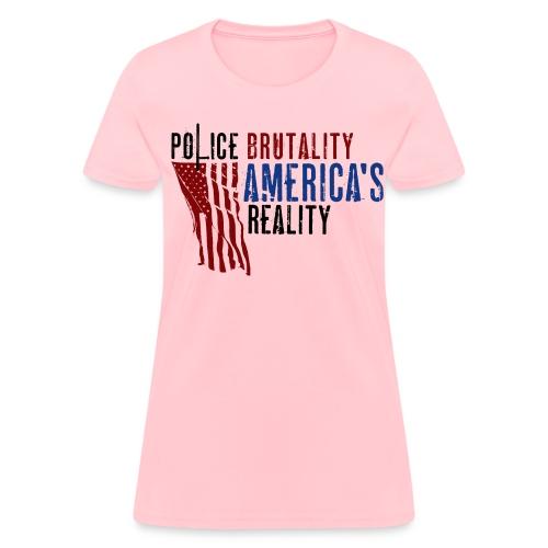 Boss Playa Police Brutality Women's Short Sleeve T-Shirt - Women's T-Shirt