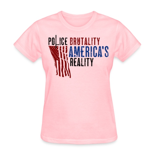 Boss Playa Police Brutality Women's Short Sleeve T-Shirt - Women's T-Shirt