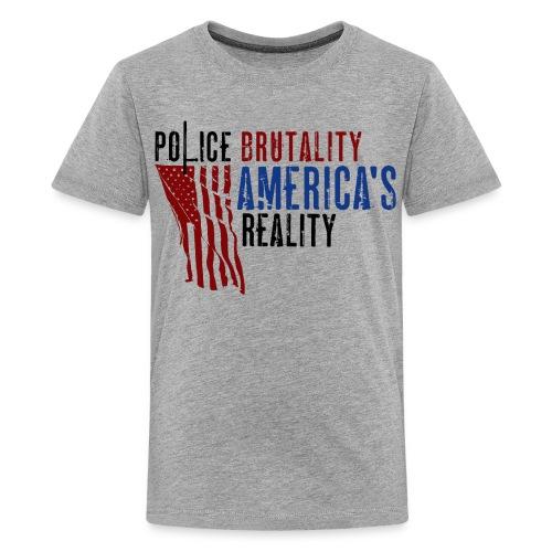 Boss Playa Police Brutality Kids Premium T-Shirt - Kids' Premium T-Shirt