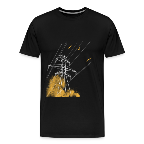 Power Line Attack - Men's Premium T-Shirt