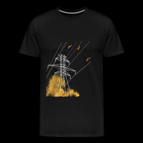 Power Line Attack - Men's Premium T-Shirt