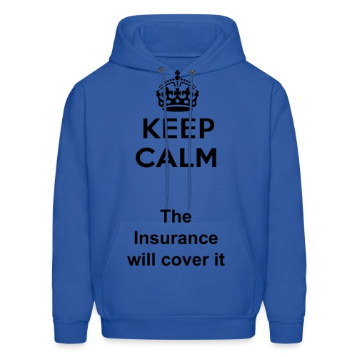 Men's Hooded Sweatshirt(Keep Calm) - Men's Hoodie