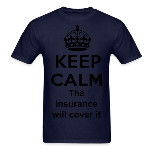 Men's T-Shirt(Keep Calm) - Men's T-Shirt