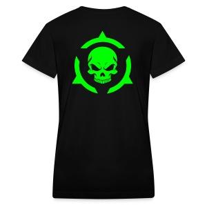 Skull - Women's V-Neck T-Shirt