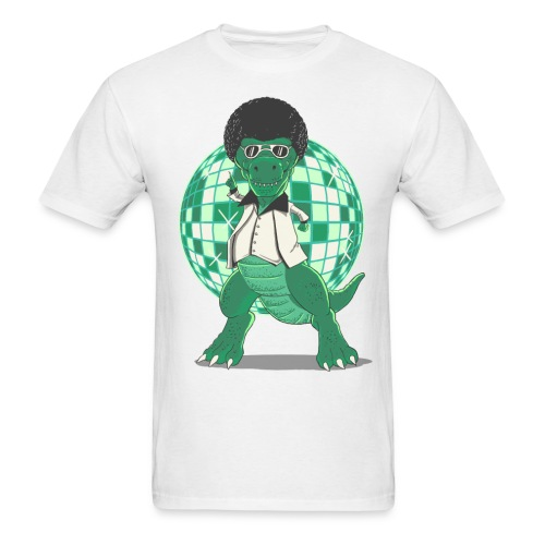 Discosaurs - Men's T-Shirt