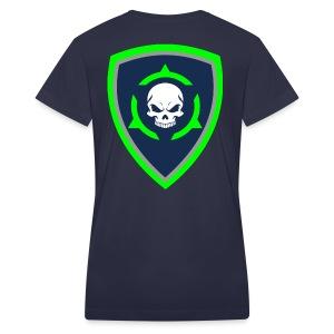 Skull 15 SH - Women's V-Neck T-Shirt