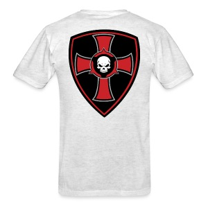 Rifle Logo/Crusader Shield - Men's T-Shirt