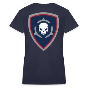 Skull 15  - Women's V-Neck T-Shirt