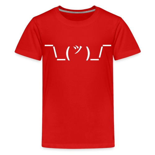 The Shrug - Kids' Premium T-Shirt