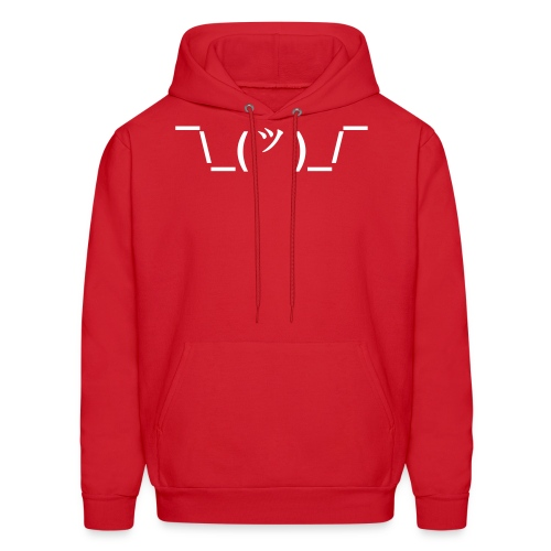The Shrug - Men's Hoodie